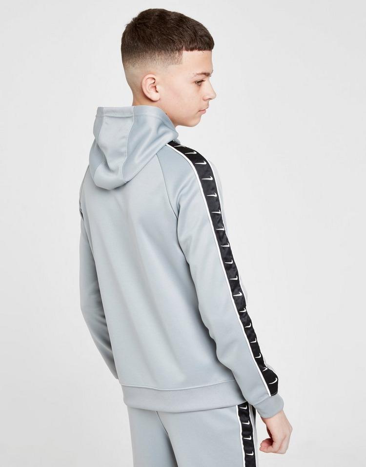 Acheter Gris Nike Sweat à capuche Tape Poly Full Zip Enfant