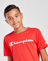 Champion camiseta Large Logo júnior