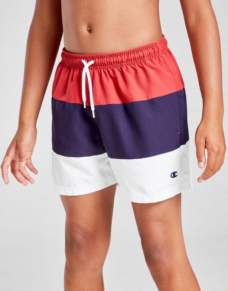 Champion Colour Block Swim Shorts Junior