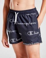 Champion All Over Print Swim Shorts Junior