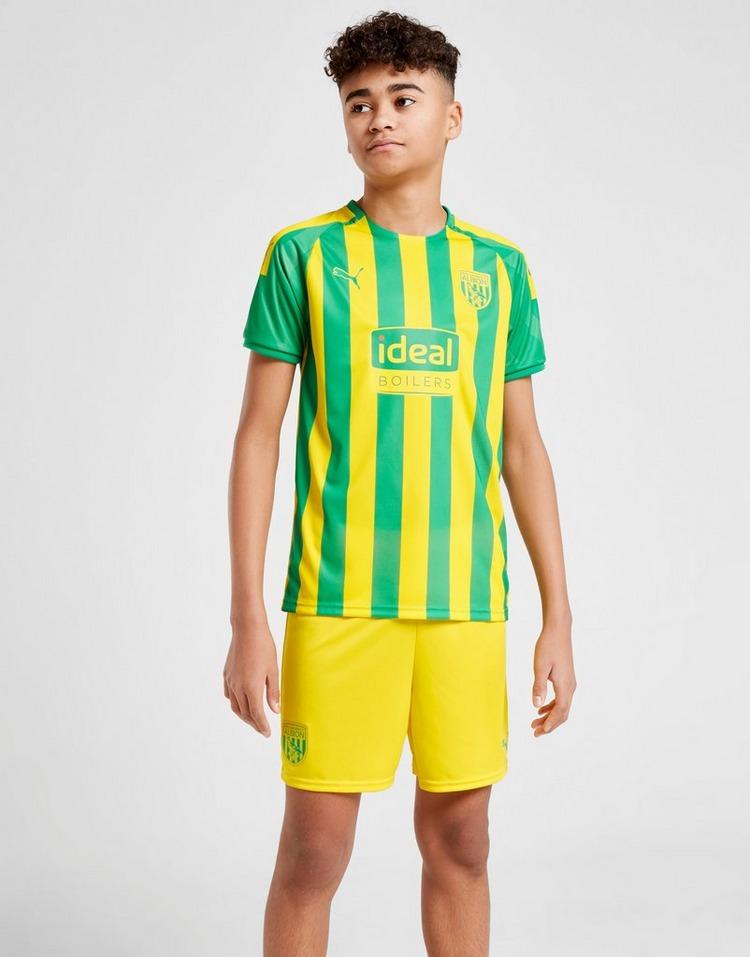 PUMA pantalón corto West Bromwich Albion 2019 2.ª equipaión júnior