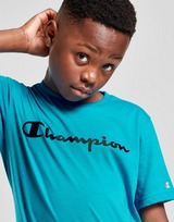 Champion Neon Logo T-Shirt Junior