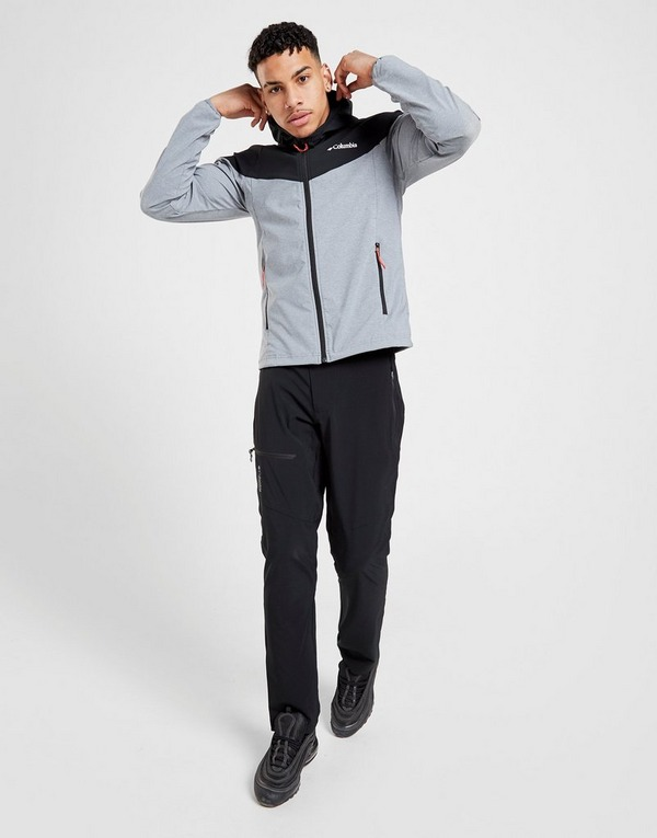 Koop Grey Columbia Heather Canyon Hooded Jacket
