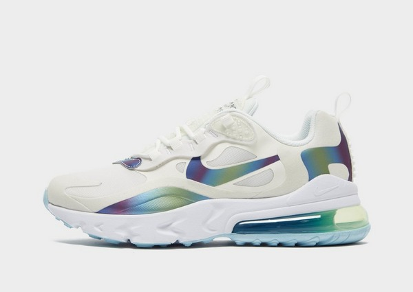 Buy Blue Nike Air Max 270 React Junior | JD Sports