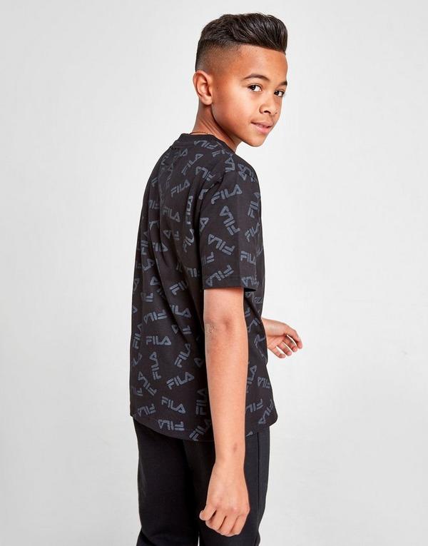 Fila Lee All Over Print T-Shirt Junior