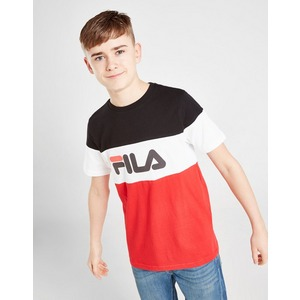 Fila T Shirt Piyon Colour Block para Júnior