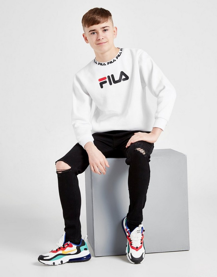 Fila Guy Fleece Crew Sweatshirt Junior