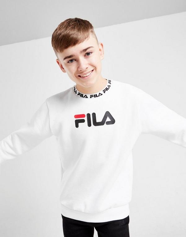 Fila Guy Fleece Crew Sweatshirt Junior