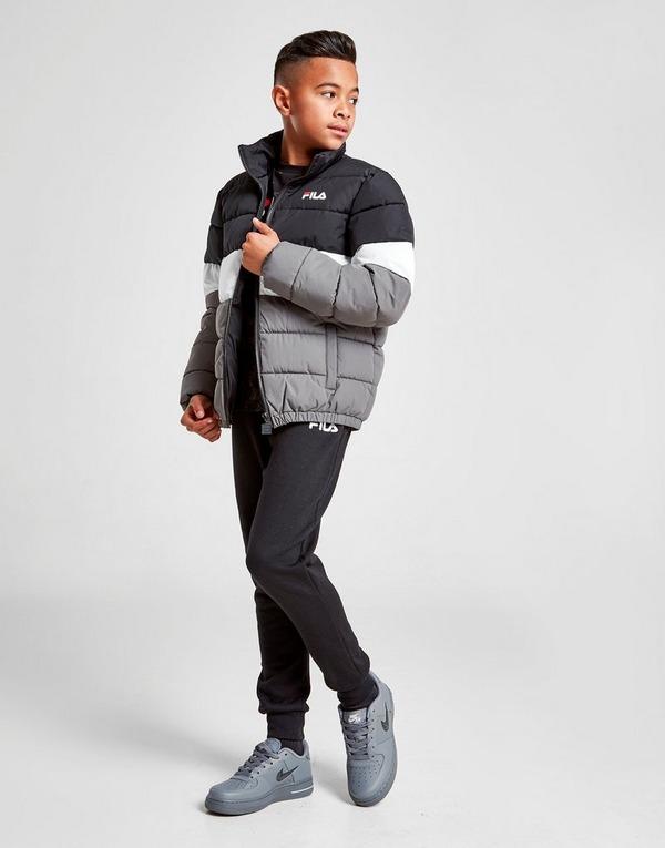 Fila Orion Colour Block Padded Jacket Junior