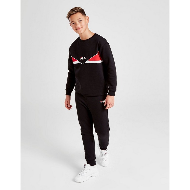 Fila Hermes Colour Block Crew Sweatshirt Junior