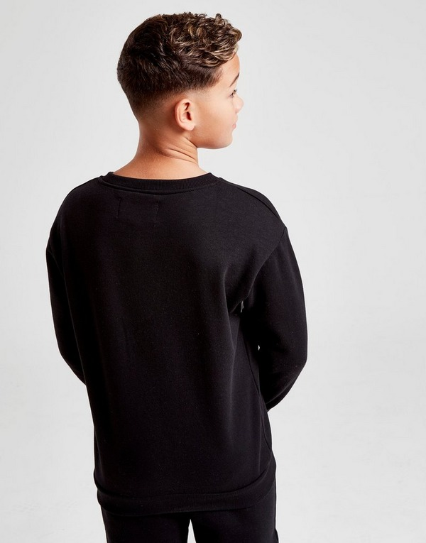 Fila Hermes Colour Block Crew Sweatshirt Junior