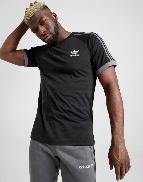 adidas Originals California 3-Stripes Short Sleeve T-Shirt