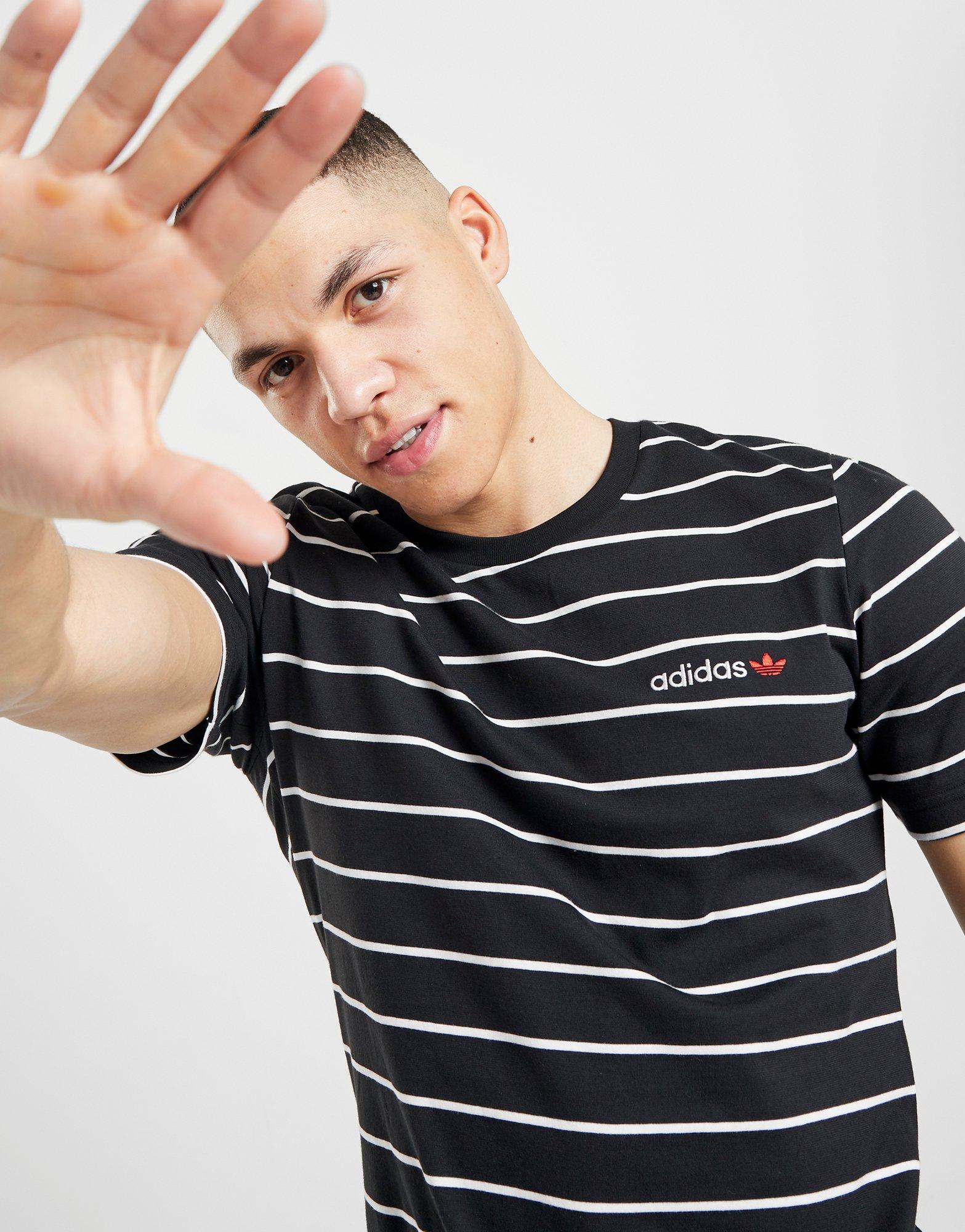 adidas Originals Linear 2.0 Stripe T Shirt Herr