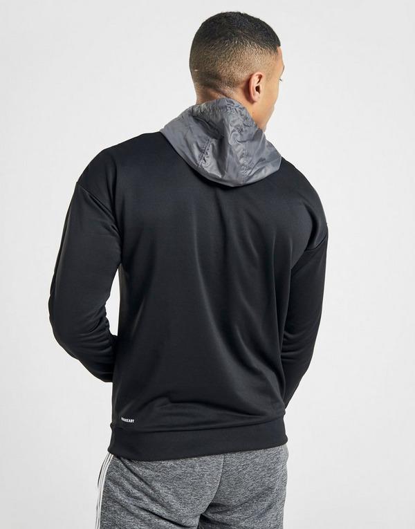 Koop Zwart adidas Match 12 Zip Hoodie Heren | JD Sports
