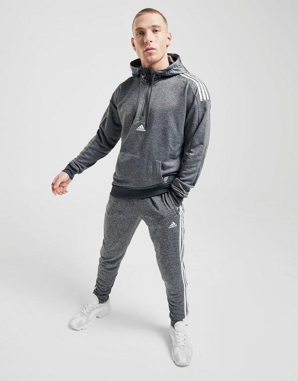 Koop Grijs adidas Match 12 Zip Hoodie Heren | JD Sports