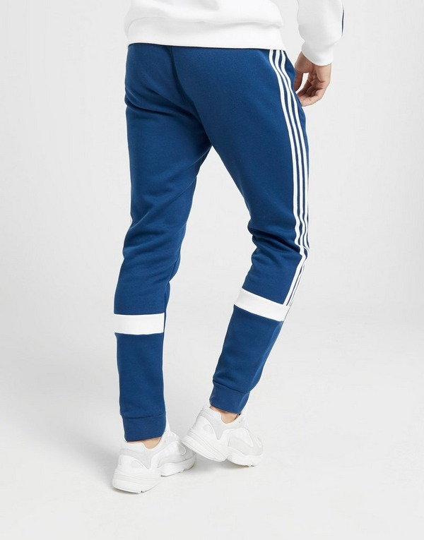 Adidas Originals 3 Stripes Fleece Pants Heren Blauw Heren