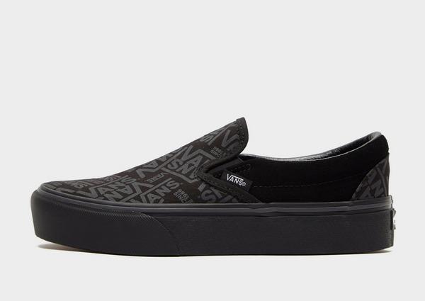 Shop den Vans Classic Slip On Schuhe für Damen in Schwarz