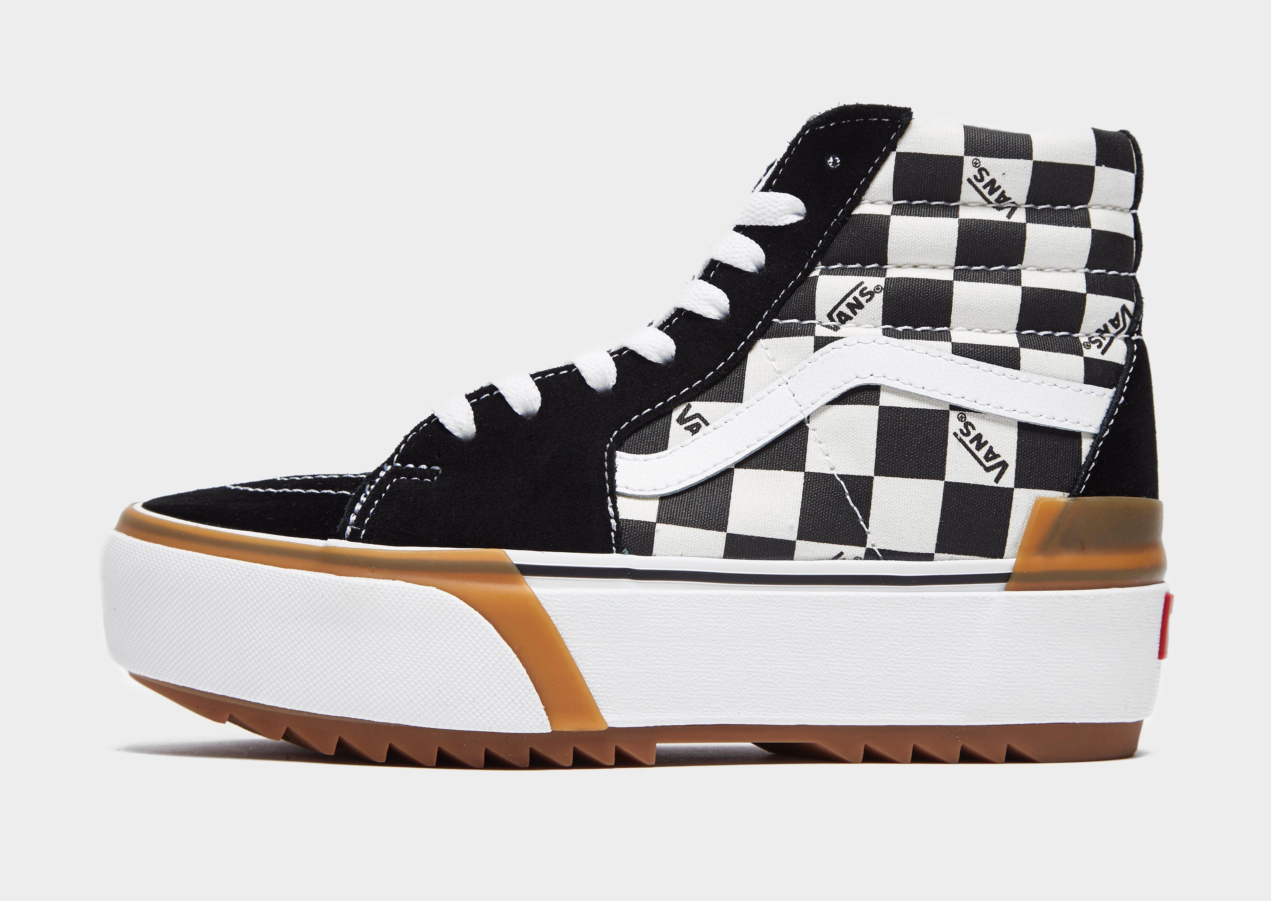 Vans Sk8 Hi Stacked Checkerboard Trainers Herre | JD Sports