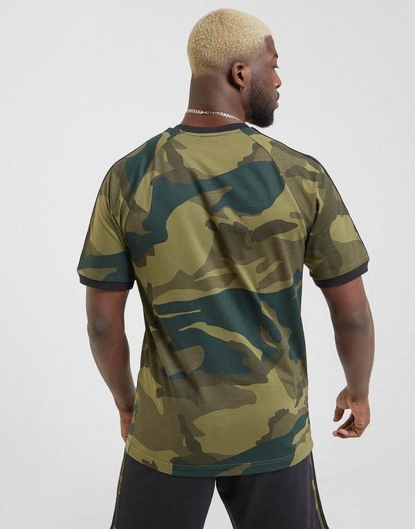 Shoppa adidas Originals California T Shirt Herr i en Grön
