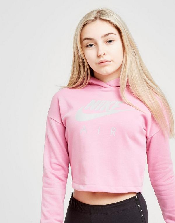 Acheter Pink Nike Sweat à capuche Air crop Enfant