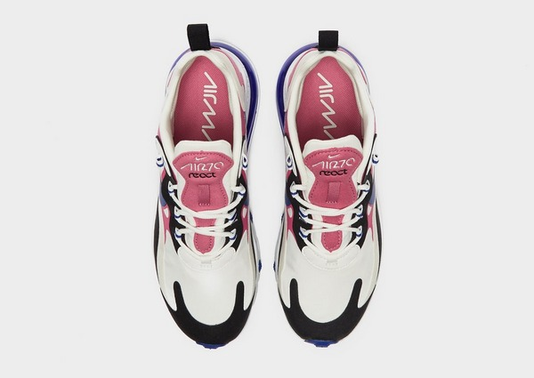Shoppa Nike Air Max 270 React Dam i en Rosa färg | JD Sports