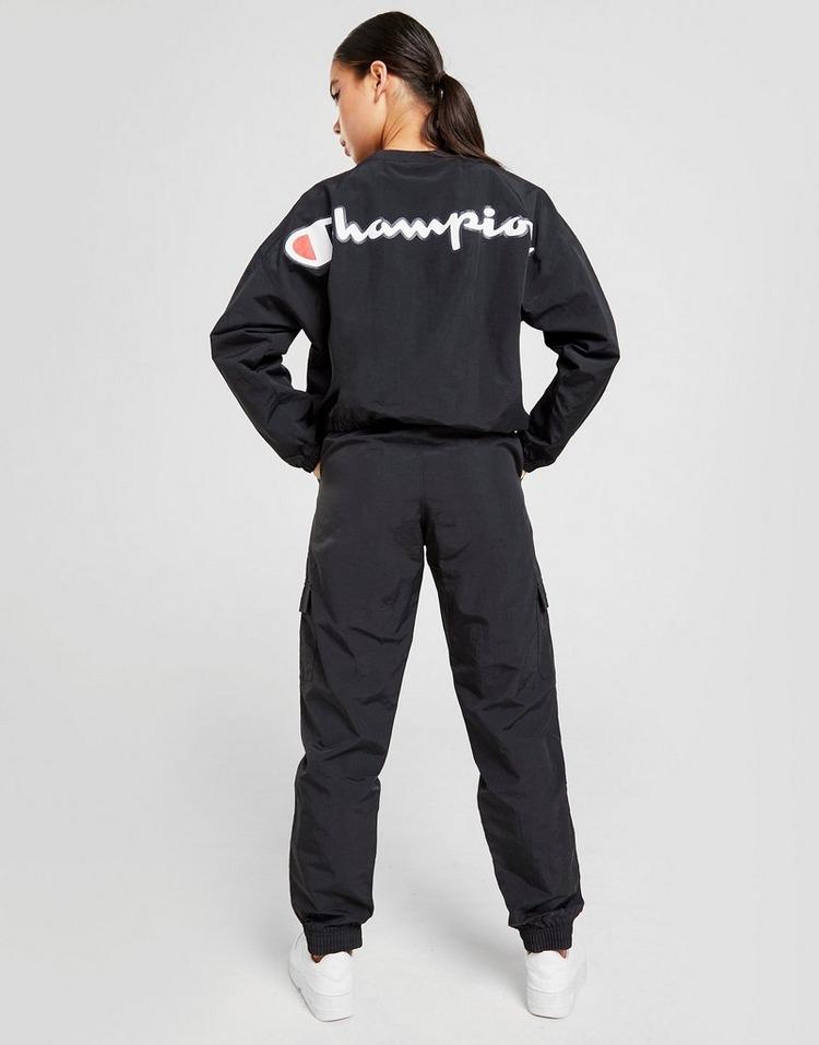 Champion Woven Script Crew Sweatshirt