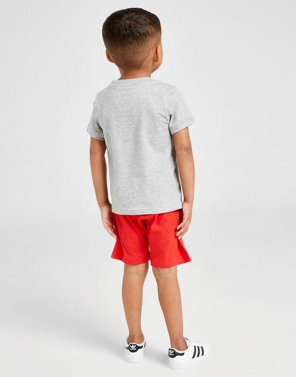 adidas Badge of Sport T-Shirt/Shorts Set Infant
