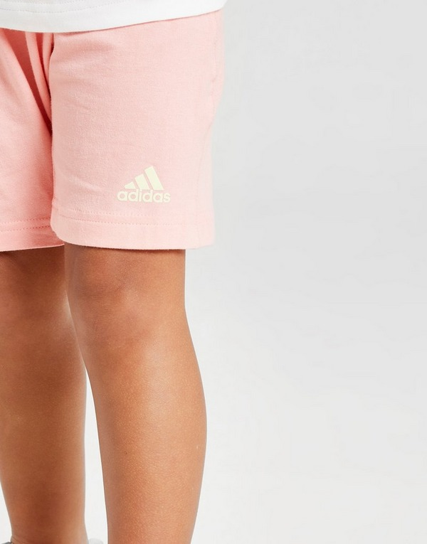 adidas Badge of Sport T-Shirt/Shorts Sæt Småbørn