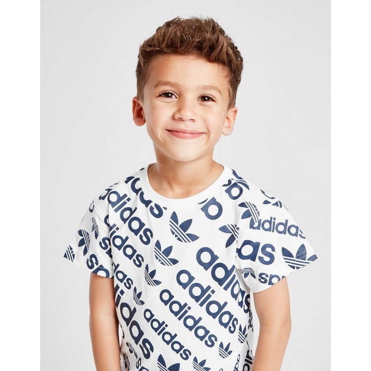 adidas Originals All Over Print T-Shirt Children