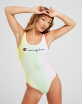 Champion Script Tie-Dye Swimsuit