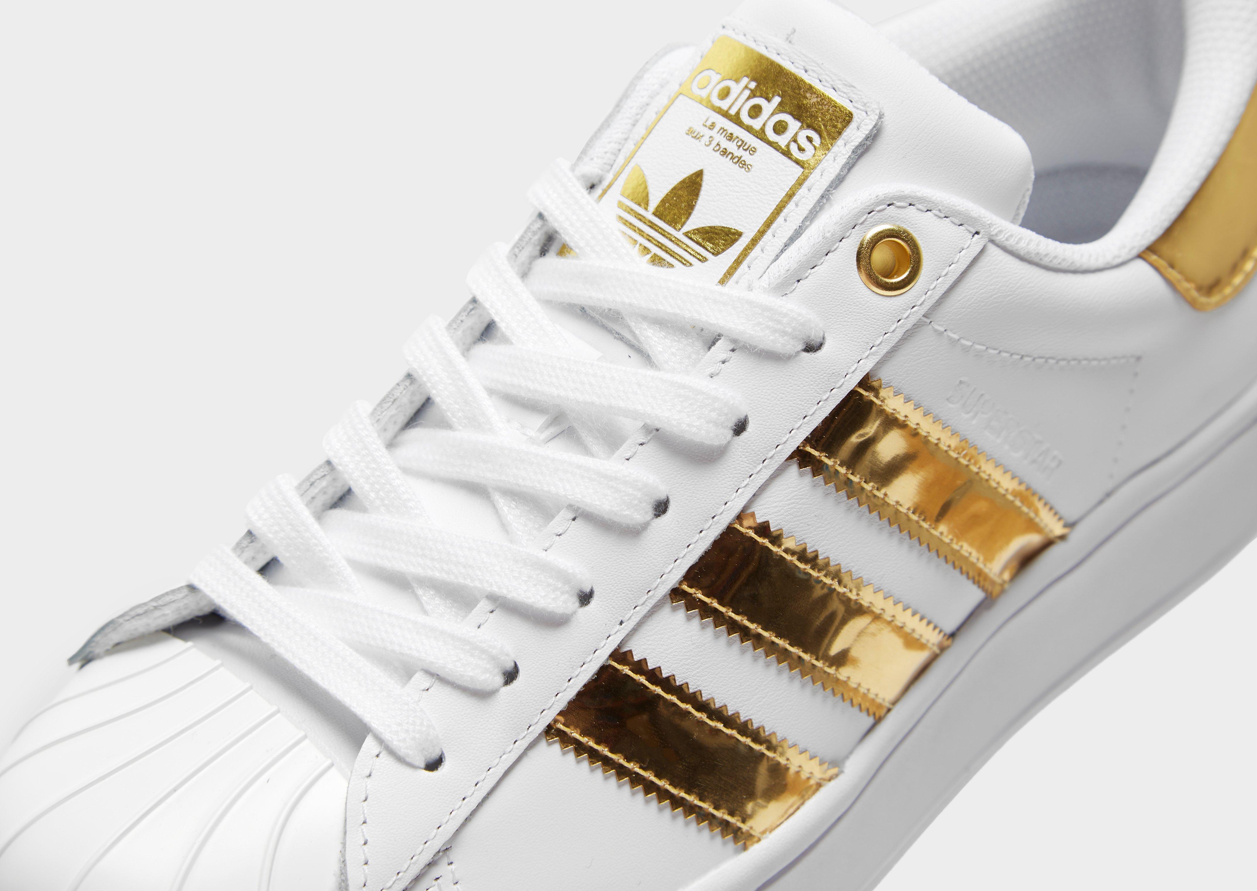 adidas superstar dam gold