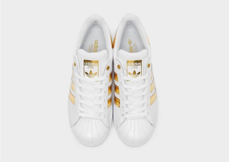 Acheter Blanc adidas Originals Baskets Superstar Bold Femme