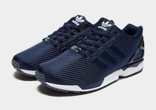Buy Blue adidas Originals ZX Flux | JD Sports