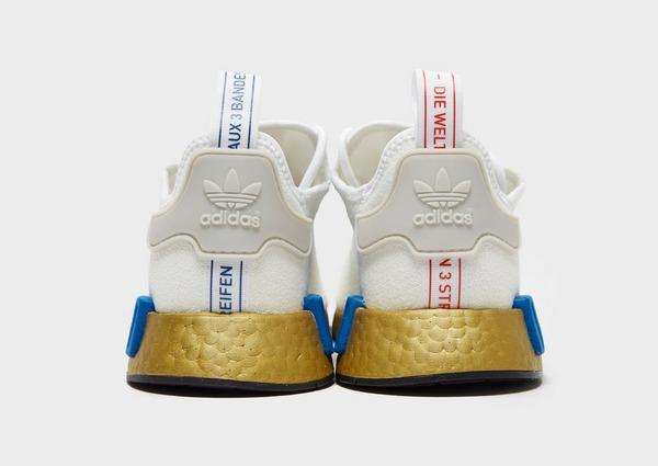 Shoppa adidas Originals NMD_R1 Herr i en Vit färg | JD