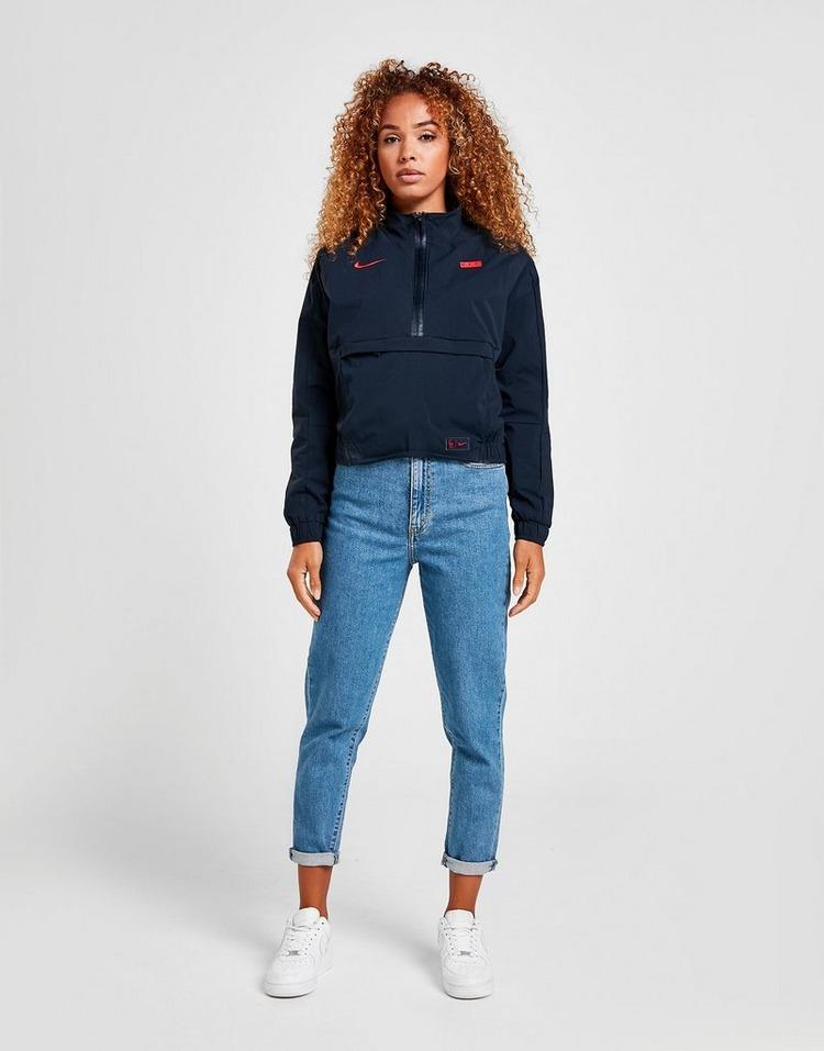 Nike France Mid-Length 1/4 Zip Jacket Women's