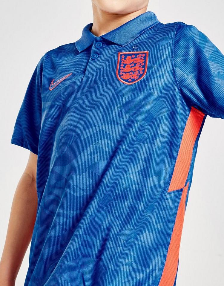 Nike England 2020 Away Kit Children