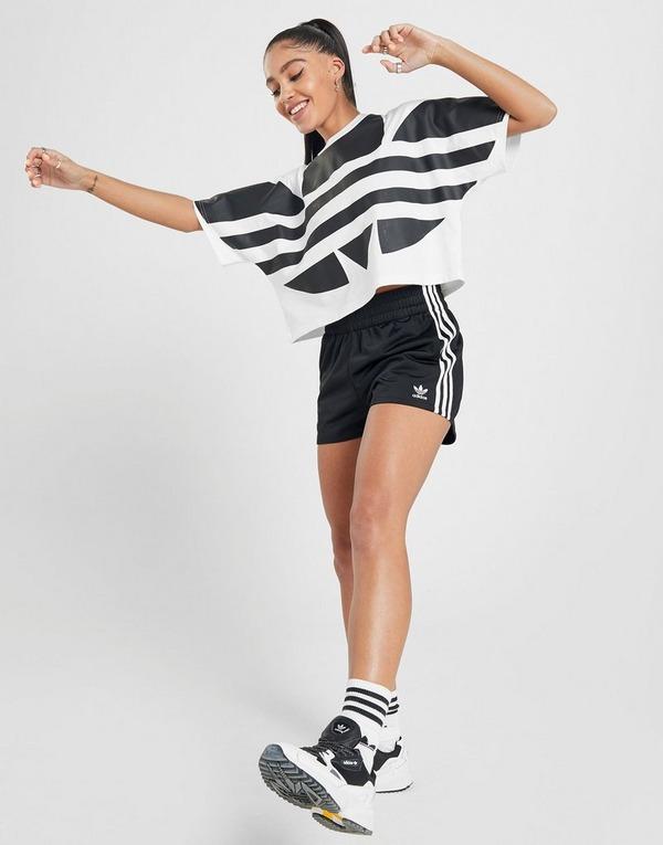 perjudicar Nacional Acurrucarse  Compra adidas Originals pantalón corto 3-Stripes en Negro