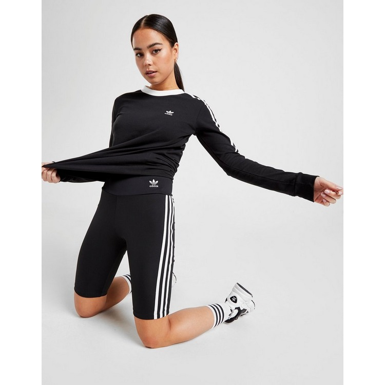 adidas Originals 3-Stripes High Waisted Cycle Shorts Dame