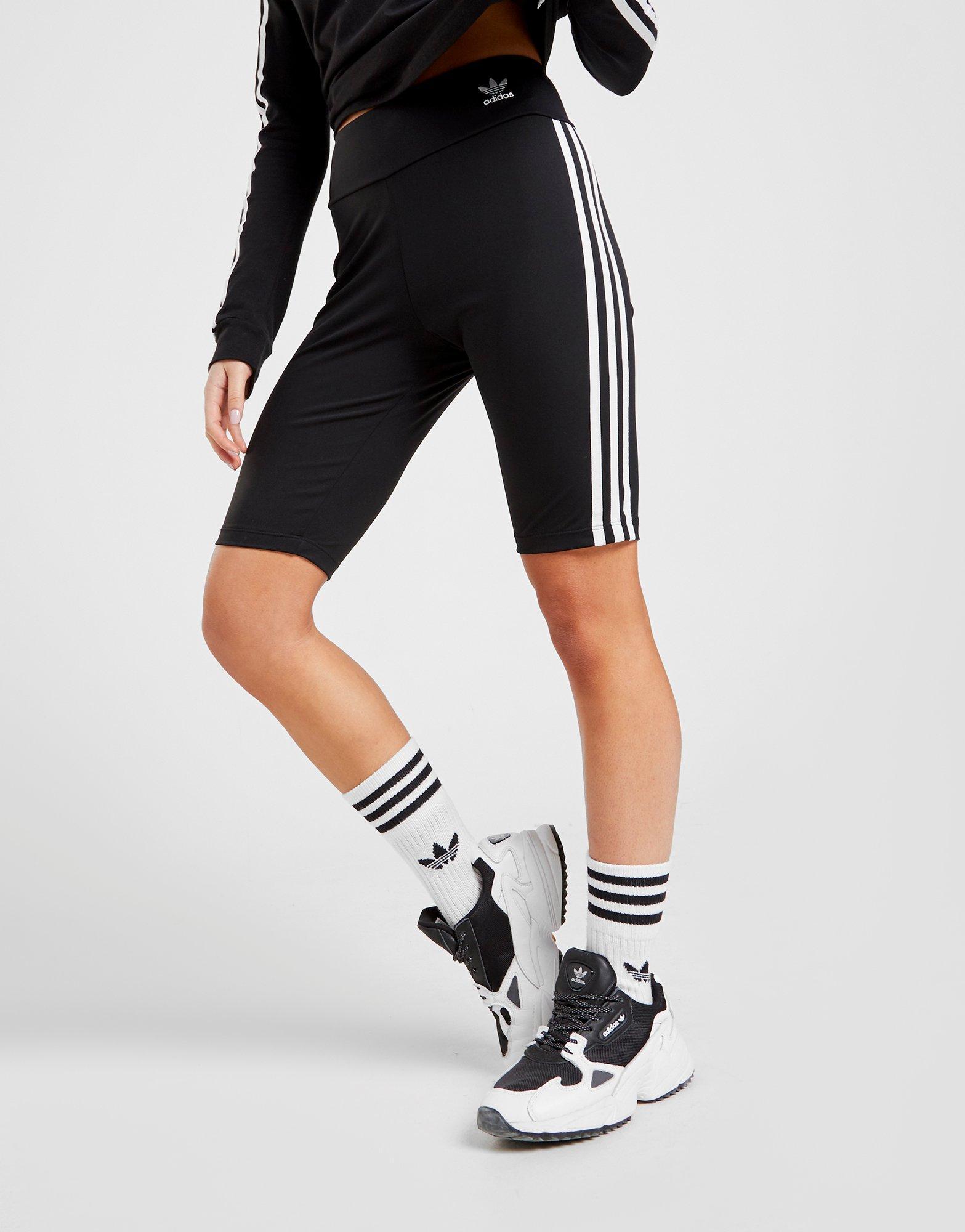 adidas high waisted shorts