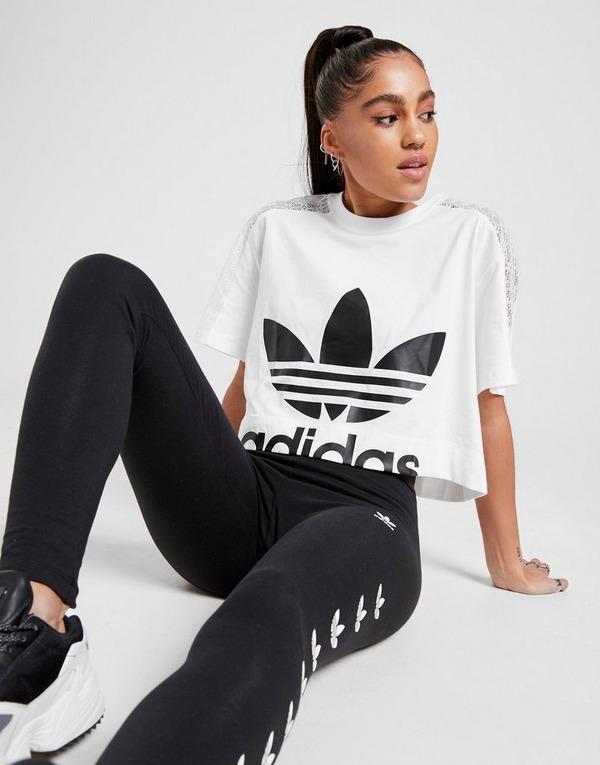 adidas Crop T-Shirts Donna