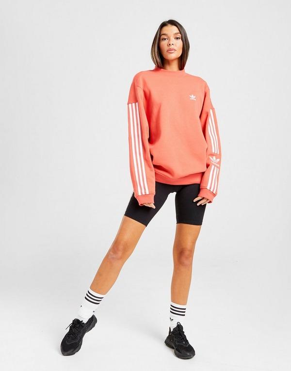 Shoppa adidas Originals Lock Up Crew Sweatshirt Dam i en