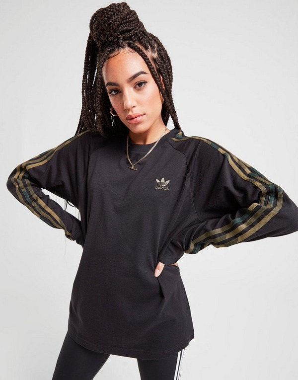 3 stripes Long Sleeve California T shirt