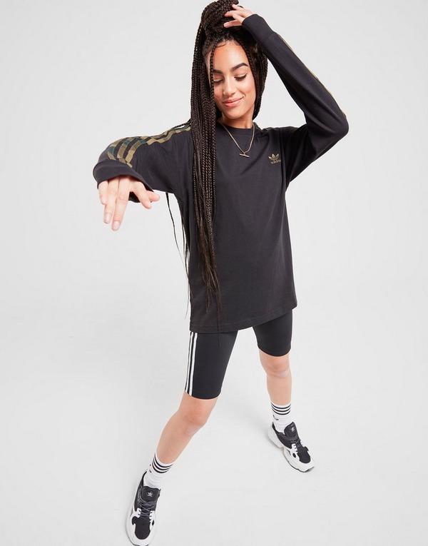 adidas Originals 3 Stripes Long Sleeve California T Shirt