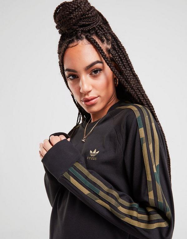 adidas Originals 3 Stripes Långärmad California T Shirt Dam