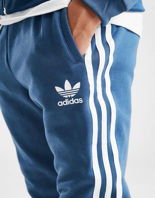 Acheter Blue adidas Originals Jogging 3 Stripes Fleece
