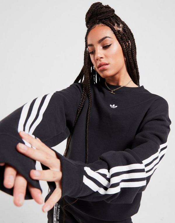 adidas Originals Sweatshirt 3 Bandes Wrap Crew Femme