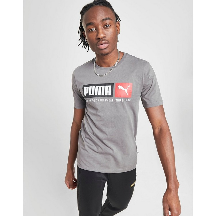 Puma Box Logo T-Shirt