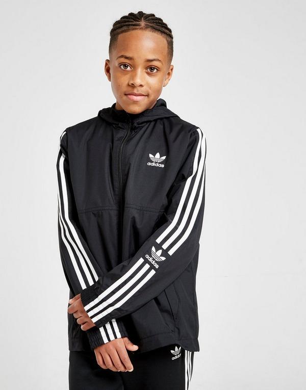Shoppa adidas Originals Lock Up Jacka Junior i en Svart färg
