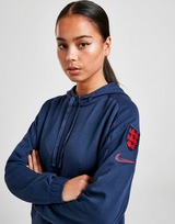 Nike England Cropped Pullover Hoodie Women's