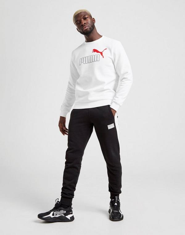 PUMA Core Large Logo Crew Sweatshirt